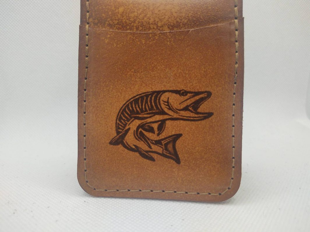 Leather Front Pocket Wallet Musky