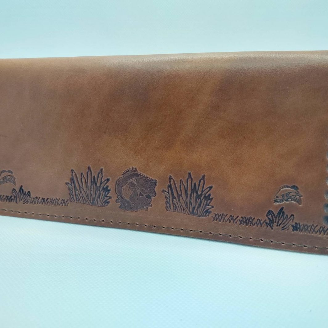 Leather Tally Book