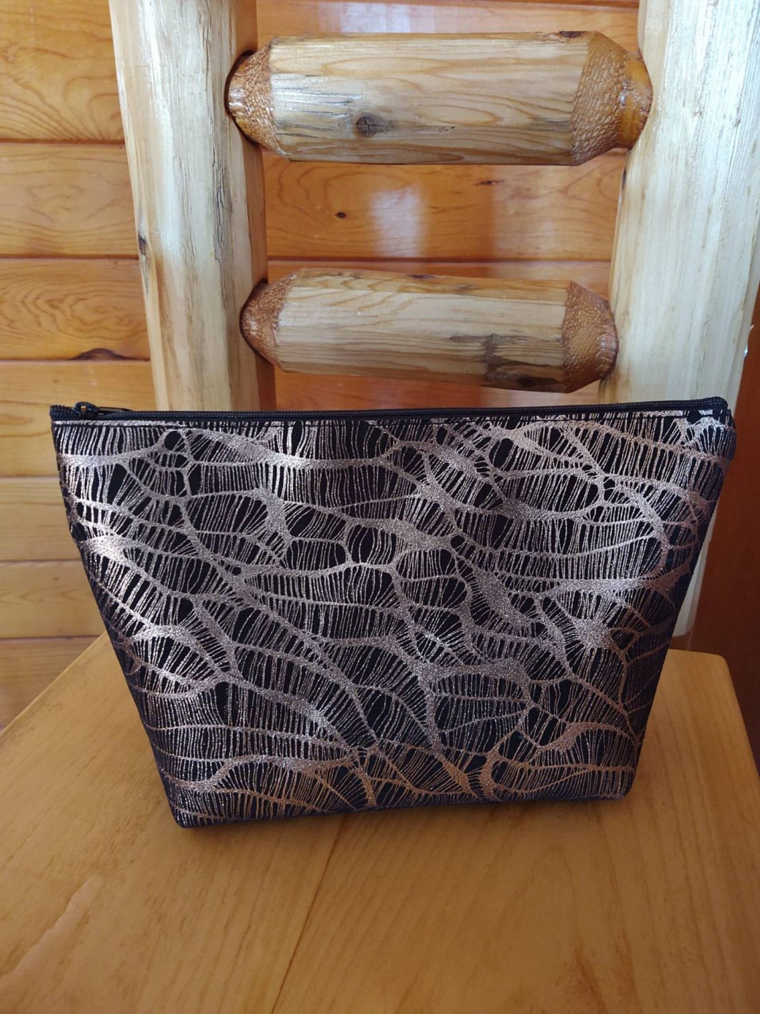 Women's Leather Make Up Bag
