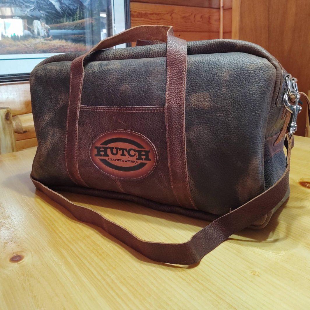 Weekender Leather Travel Bag